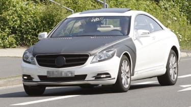 Mercedes S-Class coupe