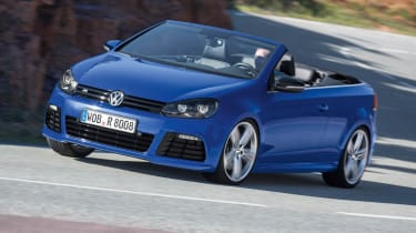 VW Golf R Cabriolet price cut