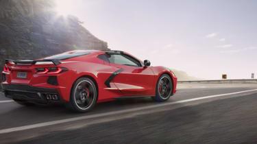 2020 Chevrolet Corvette C8 rear dynamic