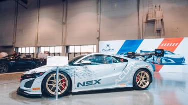 SEMA 2017 - Acura NSX white