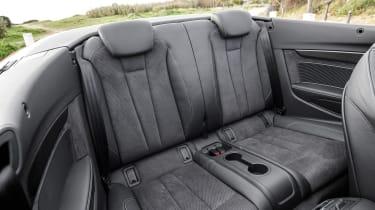 Audi S5 Cabriolet - rear seats