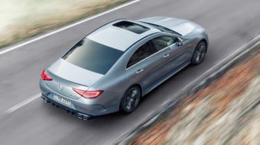 2021 Mercedes CLS53 – rear tal
