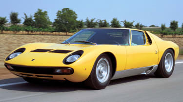 171mph Lamborghini Miura: The car that defined the word 'Supercar' was for a short period the fastest car in the world, power