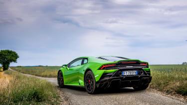 Lamborghini Huracán Evo RWD – rear quarter static
