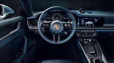 Porsche 992 911 - interior