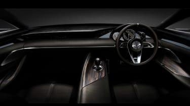 Mazda Vision Concept Coupe - interior