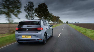 Volkswagen ID.3 review - rear tracking