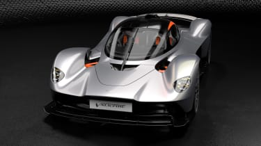 Aston Martin Valkyrie Q by AM - silver front