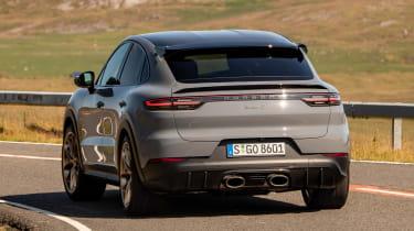 Porsche Cayenne Coupe Turbo GT – rear corner