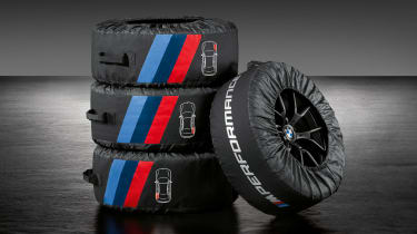 BMW 3-series G20 M Performance parts - tyre warmers??