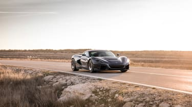 Rimac C_Two - nose