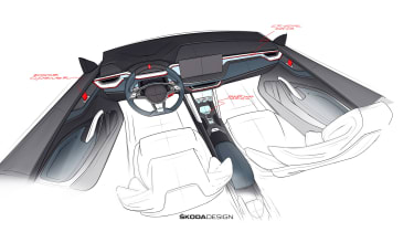 Skoda Vision Concept - dash