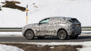 Jag E-Pace spy in france 3