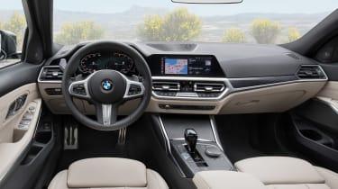 BMW 3-series Touring 2019 - dash