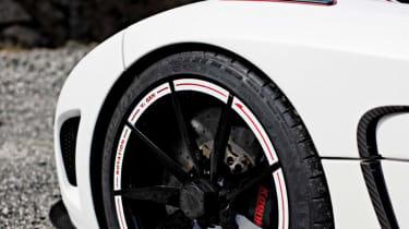Koenigsegg Agera R carbon fibre wheel
