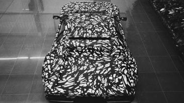 New De Tomaso Project P