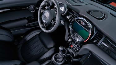 Mini Cooper facelift - interior