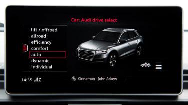 Audi SQ5 TFSI - infotainment