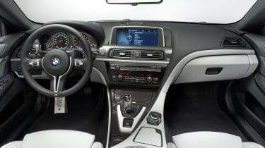 2012 BMW M6 interior dashboard