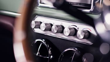David Brown Automotive Mini Remastered HVAC