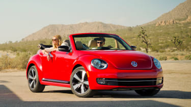 Volkswagen Beetle Cabriolet to launch at LA motor show