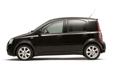 Fiat Panda 100HP black side profile