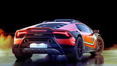 Lamborghini Huracan Sterrato - rear