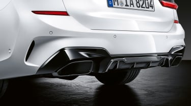 BMW M Performance parts exhaust