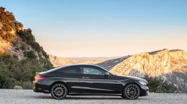 Mercedes-AMG C43 Coupe - side