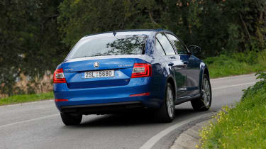 2013 Skoda Octavia rear