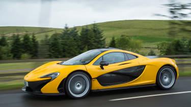 McLaren P1 yellow - tracking
