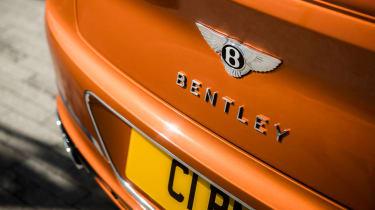 Bentley Continental GT V8 - boot