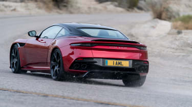Aston Martin DBS Superleggera - rear action
