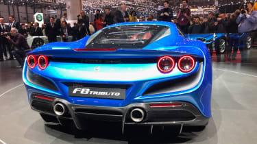 Ferrari F8 live - rear