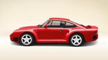 Porsche 959 – side