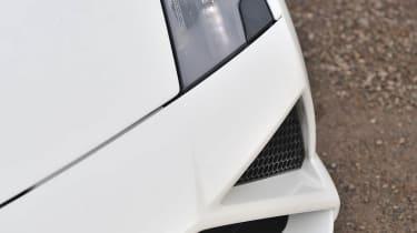 2013 Lamborghini Gallardo LP560-4 front spoiler bumper splitter