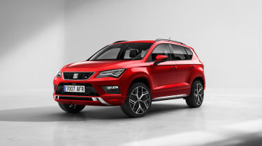 SEAT Ateca FR front
