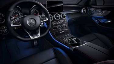 Mercedes-AMG C43 Night Edition - interior
