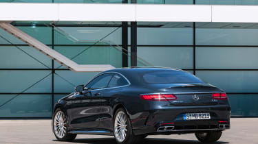 Mercedes S 65 Coupe - rear