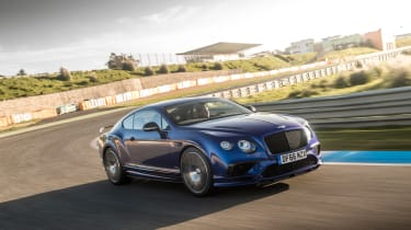 Bentley Continental Supersports - front cornering