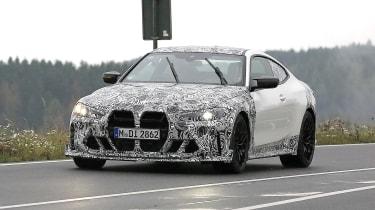 BMW M4 CSL spy 2021 –