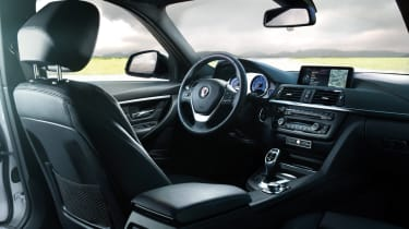 Alpina D3 Bi-Turbo interior
