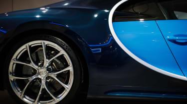 Bugatti showroom - side