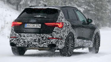 Audi RS Q3 spotted rear