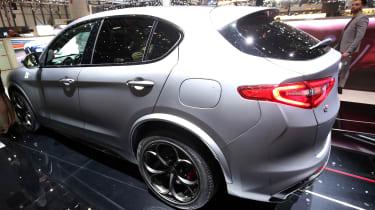 Alfa Romeo Stelvio Quadrifoglio NRING – rear quarter