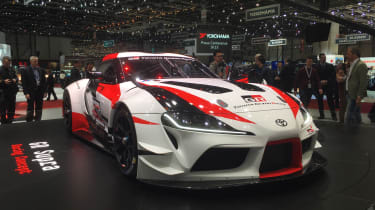 Toyota GR Supra Racing Concept - front