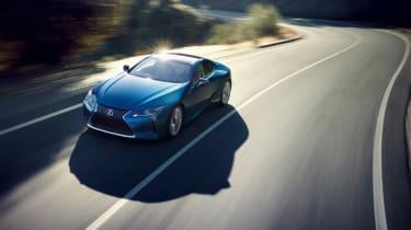 Lexus LC 500 Structural Blue edition - front