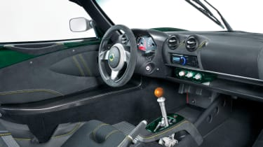 Lotus Exige 430 Cup Type 25 – cabin