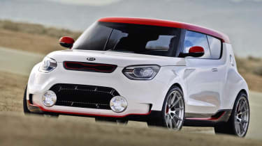 Kia Track'ster hot hatch concept front view