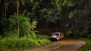 WRC Rally Australia - yaris